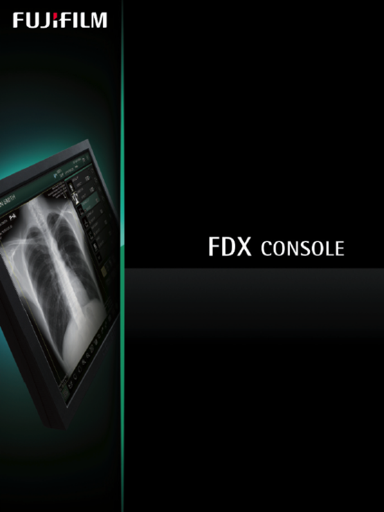 Front page image of the Fujifulm FDX Console PDF