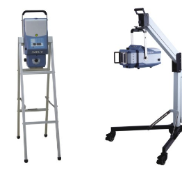 Photo of the SR-8100 Medical mounting options